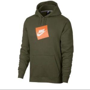 Men's Nike Sportswear Fleece  Hoodie, Sz M NWT